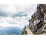 Path, European alps, Hiking, Wendelstein
