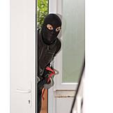 Burglar, Burglary