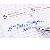 Rehabilitation, Physiotherapie