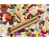 Illness, Medical Insurance, Health Care, Drugs