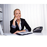 Geschäftsfrau, Business, Büro & Office