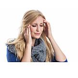 Kopfschmerz, Migräne, Stress & Belastung