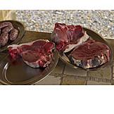 Meat, Steak, Beef