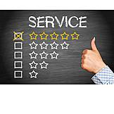 Erfolg & Leistung, Dienstleistung, Service