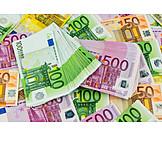 Money, Euro, Euro Banknote, Banknote
