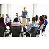 Arbeit & Beruf, Besprechung & Unterhaltung, Meeting