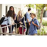 Pause & Auszeit, Studenten, Campus