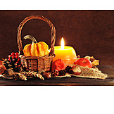 Still Life, Harvest Festival, Autumn Decoration, Thanksgiving