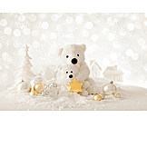 Christmas decoration, Polar bear