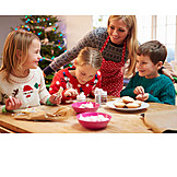 Pastry crust, Christmas cookies, Siblings, Christmas preparation