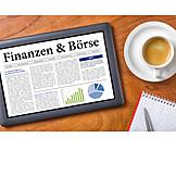 Money & Finance, Finance, Stock Exchange, Tablet-pc