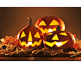 Squash, Halloween, Pumpkin Lantern