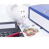 Save, Piggy Bank, Precautionary, Pension