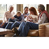 Pflege & Fürsorge, Generationen, Großfamilie