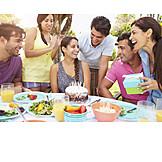 Birthday, Celebrations, Friends, Birthday Party