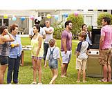 Fest, Grillparty, Familienfest, Gartenparty
