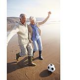 Senior, Paar, Spaß & Vergnügen, Aktiver Senior