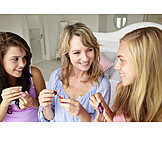 Friends, Beauty Culture, Nail Care