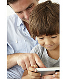 Father, Mobile Communication, Mobile Phones, Son