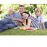 Park, Familie, Picknick