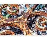 Close Up, Metal, Ornament
