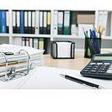 Büro & Office, Arbeitsplatz, Aktenordner
