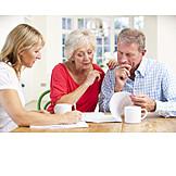 Beratung, Testament, Seniorenpaar