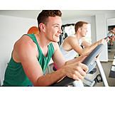 Sports & Fitness, Sportsman, Gym, Cross Trainer