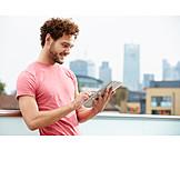 Mann, Freizeit & Entertainment, Tablet-pc