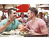 Paar, Verabredung, Lokal, Homosexuell