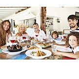 Essen & Trinken, Restaurant, Familie
