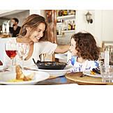 Mutter, Essen & Trinken, Tochter