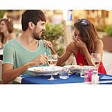 Paar, Essen & Trinken, Liebespaar