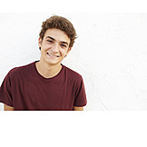 Portrait, Junge, Teenager