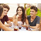 Teenager, Unterhaltung, Essen & Trinken