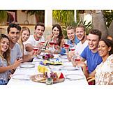 Essen, Party, Feiern, Freunde