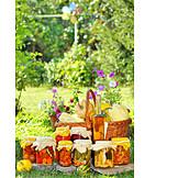Pickled, Rural scene, Jar, Preserved