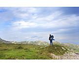 Hiking, Trekking, Hiker