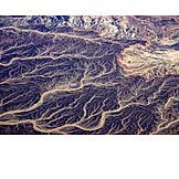 Luftaufnahme, Wasserlauf, Flussarme, Flussdelta, Golf Von Sues