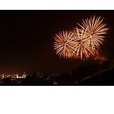 Firework display, Florence