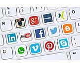 Communication, Social Media, Social Network