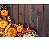 Frame, Thanksgiving, Harvest Time