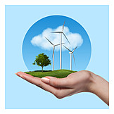 Environment Protection, Energy, Wind, Environmentally Friendly