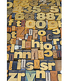 Letter, Letterpress, Typesetting, Font