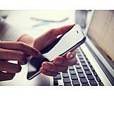 Mobile Kommunikation, Tippen, Smartphone