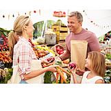Shopping, Customer, Vegetable market, Greengrocer