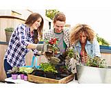 Fun & Games, Domestic Life, Planting, Repot