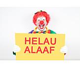 Karneval, Clown, Narrenruf
