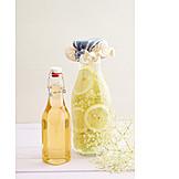 Elderflowers, Syrup, Lemonade