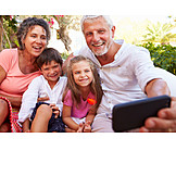 Grandson, Mobile Phones, Grandparent, Selfie